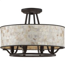 Aristocrat Semi-Flush Mount in Palladian Bronze
