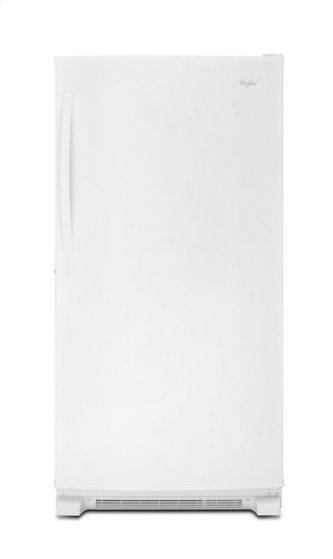 Whirlpool(R) 20 cu. ft. Upright Freezer with Temperature Alarm