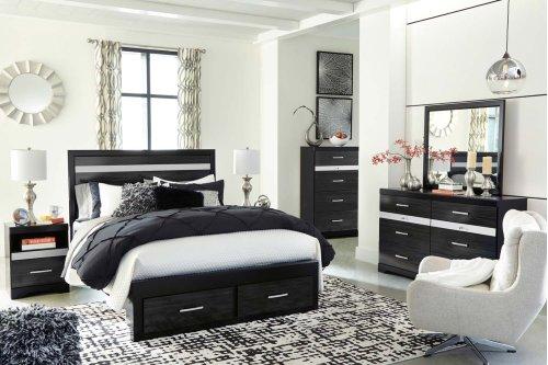 Starberry - Black 2 Piece Bedroom Set