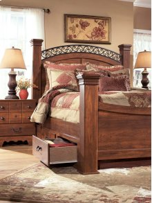 Timberline - Warm Brown 5 Piece Bed Set (Queen)