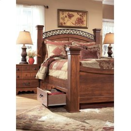 Timberline - Warm Brown 5 Piece Bed Set (King)