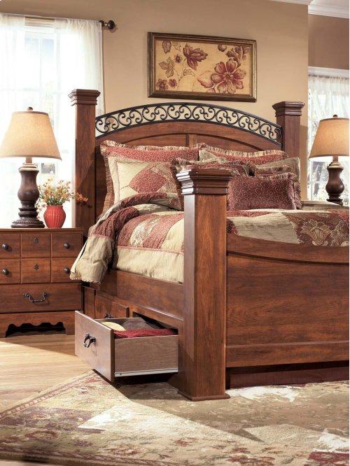 Timberline - Warm Brown 6 Piece Bed Set (Queen)