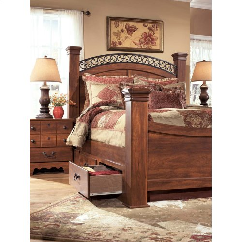 Timberline - Warm Brown 6 Piece Bed Set (Queen)
