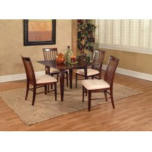 Montreal 39 x 39 Dining Set Walnut