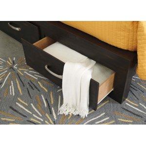 Ashley Furniture Queen Storage Footboard