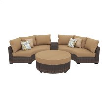 Spring Ridge - Beige/Brown 4 Piece Patio Set