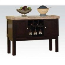 70133 Faux Marble Top Server