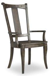 Dining Room Vintage West Splatback Arm Chair