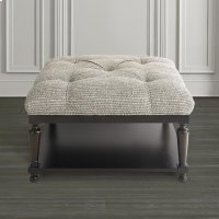 Custom Ottoman Square Ottoman w/Shelf Product Image