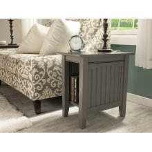 Nantucket Chair Side Table Atlantic Grey