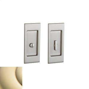 Lifetime Polished Brass PD006 Small Santa Monica Pocket Door Product Image