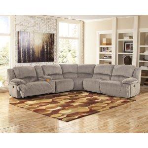 Ashley Furniture Toletta - Granite 7 Piece Sectional