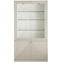 Axiom Display Cabinet in Linear Gray (381)
