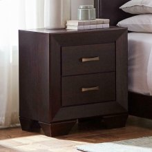 Fenbrook Dark Cocoa Two-drawer Nightstand