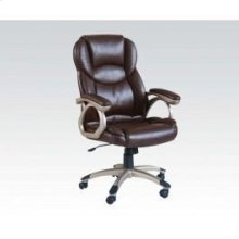 Brown Pu Office Chair