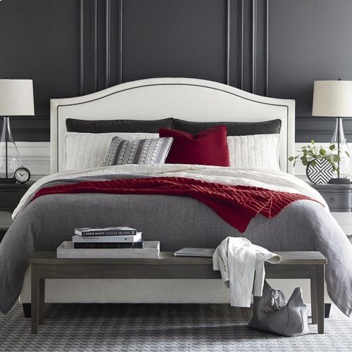 Custom Uph Beds Vienna Cal King Arched Bed