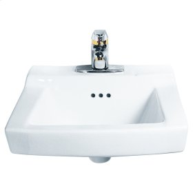 Comrade Wall Mounted Sink - White