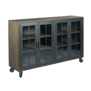 Hidden Treasures Trolley Door Cabinet Product Image