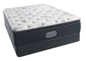 BeautyRest - Silver - Sea Glass - Pillow Top - Plush - Twin XL