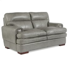 Jake Loveseat w/ Nickel Nail Head Trim