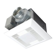 WhisperLite® 80 CFM Ceiling Mounted Fan/Light Combination