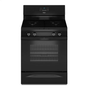 5.0 Cu. Ft. Freestanding Gas Range with AccuBake® Temperature Management System - BLACK