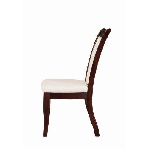 Cornett Transitional White Dining Chair