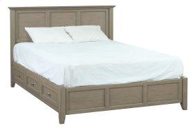FST McKenzie King Petite Storage Bed