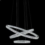 Asteroids LED Chandelier Oval Rings Product Image