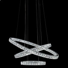 Asteroids LED Chandelier Oval Rings