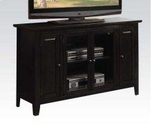 BLACK FINISH TV STAND