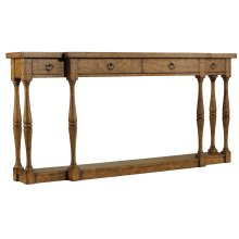 Living Room Sanctuary Four-Drawer Thin Console - Drift