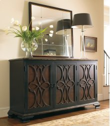 Living Room Two Tone Credenza