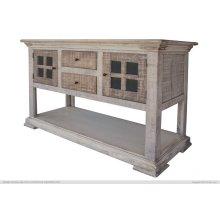 2 Drawer, 2 Door, Sofa Table & 1 Shelf