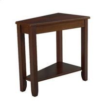 Chairsides Wedge Chairside Table - Cherry