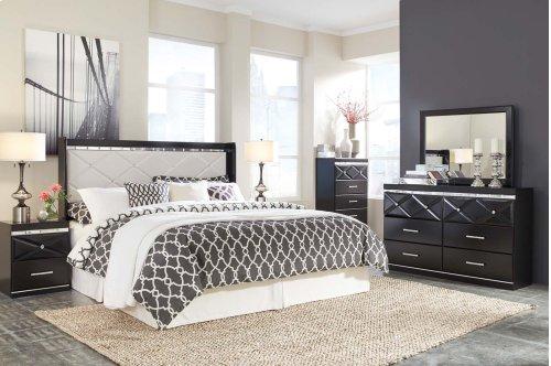 Fancee - Black 2 Piece Bedroom Set