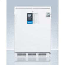 Freestanding General Purpose Refrigerator-freezer With Dual Evaporator Cooling, Nist Calibrated Thermometer, Internal Fan, and Front Lock