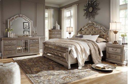 Birlanny - Silver 2 Piece Bedroom Set