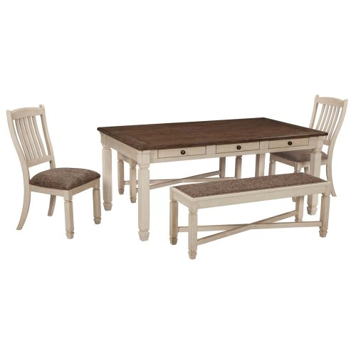 Bolanburg - Antique White 5 Piece Dining Room Set - D647D7 In By Ashley Furniture In Cleveland, OH - Bolanburg - Antique