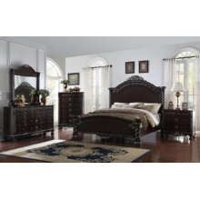Corinthian Panel Bedroom set