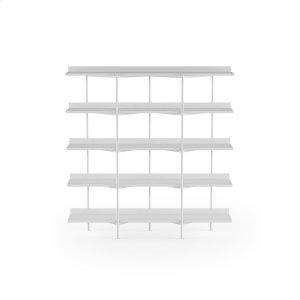 Bdi FurnitureShelving System 5305 in Satin White Satin White