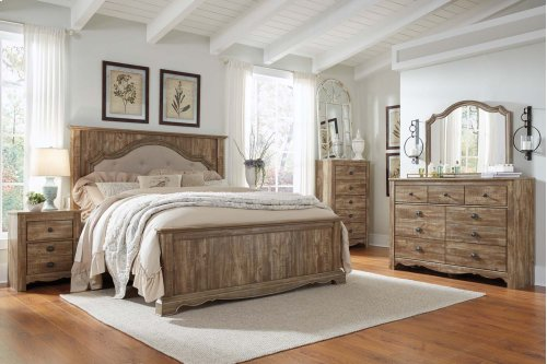Shellington - Caramel 2 Piece Bedroom Set