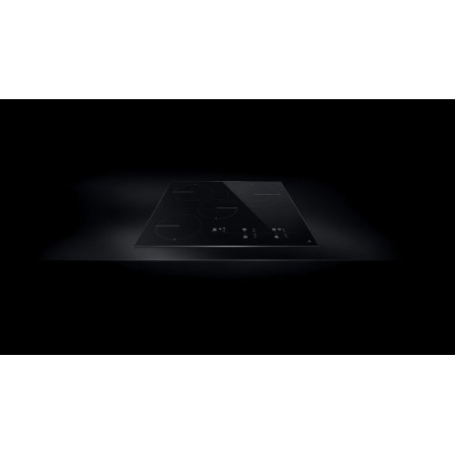 "Oblivian Glass 24"" Electric Radiant Cooktop with Glass-Touch Electronic Controls Black"