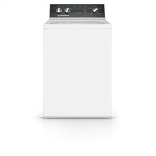 26 Inch Top Load Washer with 4 Preset Cycles, White