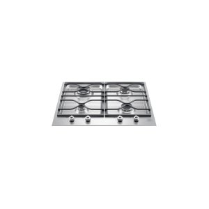 Bertazzoni24 Segmented cooktop 4-burner Stainless Steel