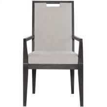 Decorage Arm Chair in Cerused Mink (380)