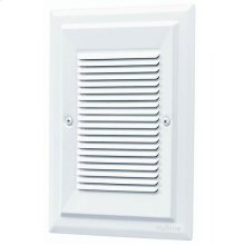 Recessed Westminster Wired Chime, 6-3/4w x 8-3/8h with White cover