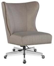 Home Office Juliet Executive Swivel Tilt Chair w/ Metal Base