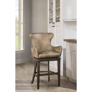 Hillsdale FurnitureCaydena Swivel Return Memory Bar Stool