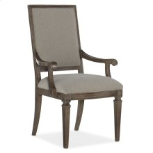 Dining Room Woodlands Carved Back Arm Chair